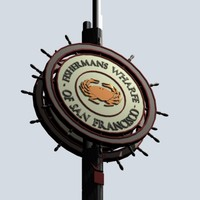Fishermans Wharfe Sign