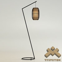 3d model kai z floor lamp