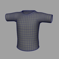 clothes shirt tee 3d obj
