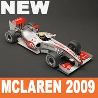 McLaren F1 2009 Vray