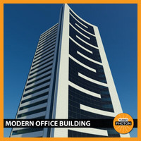 modern office building 01 3d 3ds