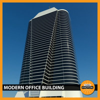 modern office building 03 3d max