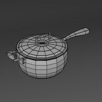 3d model of pan - pan07... by bescec