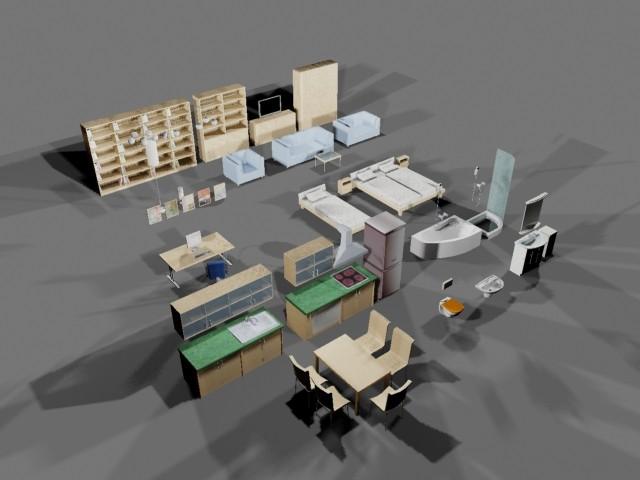 3d ikea furniture model for Furniture 63385