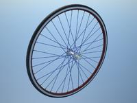 road bike rim 3d model