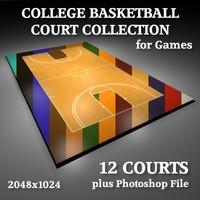 College Basketball Courts