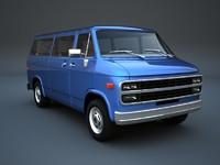 gmc sportvan 3d 3ds