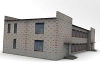 brick house 3d max
