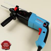 bosch hammer drill 3d model