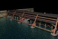 old bridge 3d model