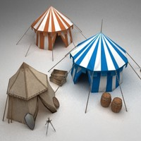 Medieval tents