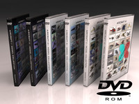 aircraft dvd 3d model