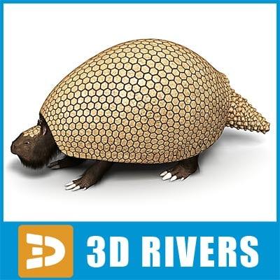 Glyptodon by 3DRivers