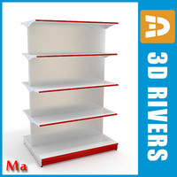 Shelves 02 v1 by 3DRivers