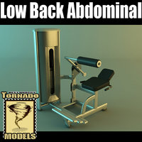 Low Back Abdominal Machine
