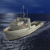 Argentine Navy Supply Vessel OLIVIERI