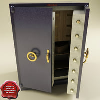 3d model safe v2