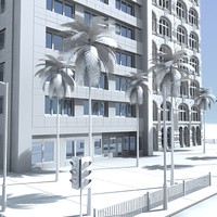 3dsmax city block