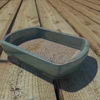 3d model bonsai pot