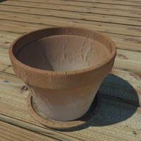 3ds max clay pot