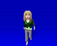 doll functional ready 3d model