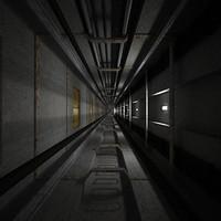 3d elevator shaft