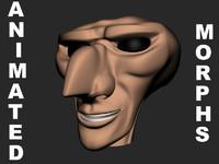 head speech animate max