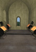 maya gothic cimiterial chapel cistercian