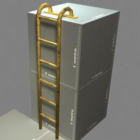 top mounted ladder