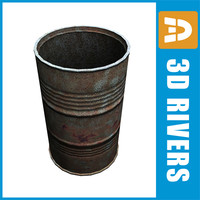 Old mine barrel by 3DRivers