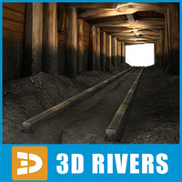 Old mine tunnel by 3DRivers