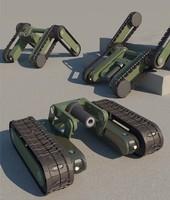 3ds max robot scorpio2