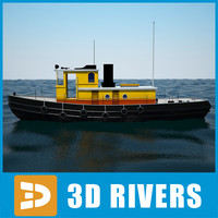 Sea Tug 03 by 3DRivers
