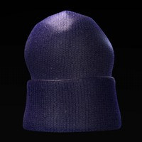 hat winter fbx