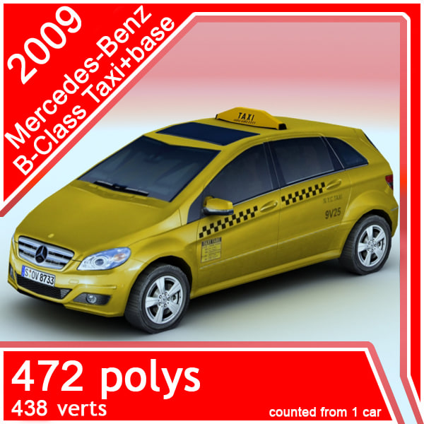 2009 Mercedes-Benz +Taxi (2in1)