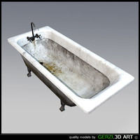 bathtub games 3d model