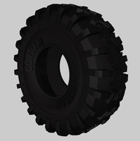 free obj model road tire