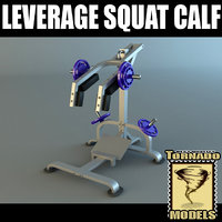 Powertec Leverage Squat Calf
