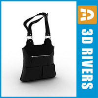 3d ladies bag model