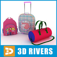 Kids bags set by 3DRivers
