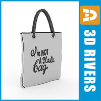 Reusable shopping bag 01 by 3DRivers