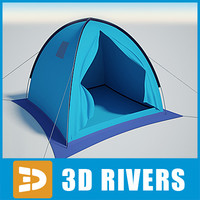 Camping tent 04 by 3DRivers