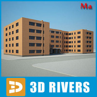 3dsmax building house 15