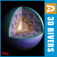 maya photoreal uranian structure