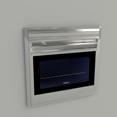 3d Model Sub Zero Wolf Appliance
