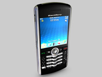 3d blackberry pearl