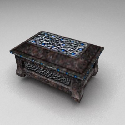 3d rpg items fantasy model - RPG items collection... by Kvakling