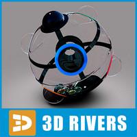 cube 360 3d model