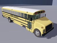 3ds traditional school bus