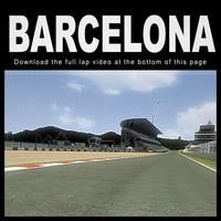 montmelo barcelona 3d max